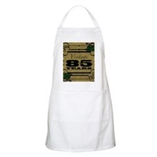 Vintage 85th Birthday (Gold) Apron