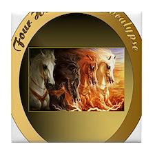 The Four Horses of Apocalypse, Arabia Tile Coaster
