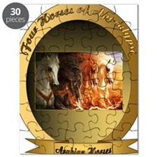 The Four Horses of Apocalypse, Arabian Hors Puzzle