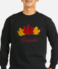 Canadian Maple Leaves T