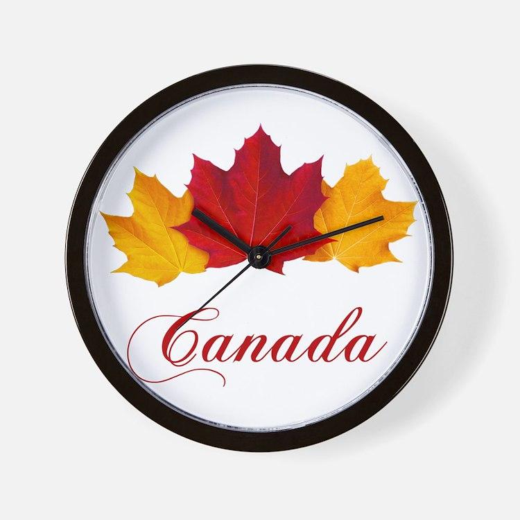 canada day clocks canada day wall clocks large modern