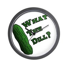 Whats the Dill? Wall Clock