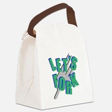 forkAOTS Canvas Lunch Bag