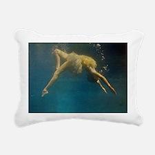 water ballet Rectangular Canvas Pillow