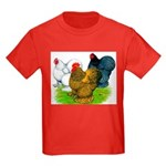Assorted Cochins Kids Dark T-Shirt