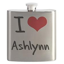I Love Ashlynn Flask