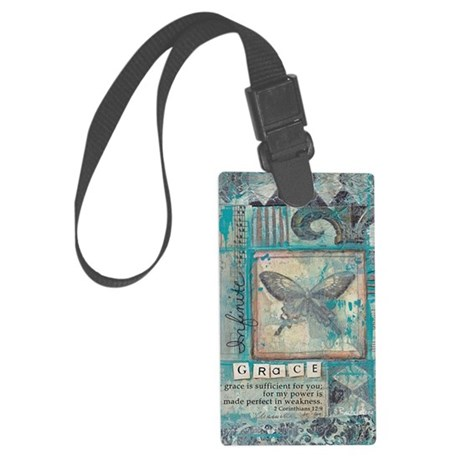 Infinite Grace Large Luggage Tag