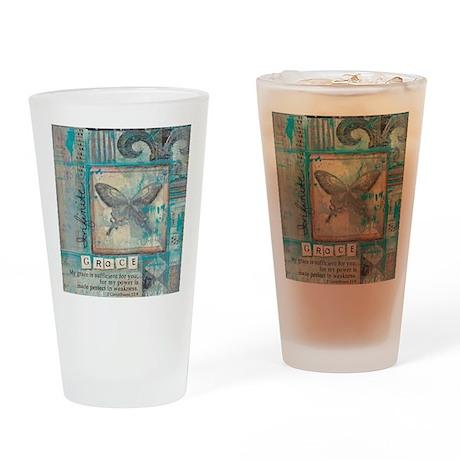 Infinite Grace Drinking Glass