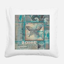Infinite Grace Square Canvas Pillow