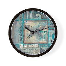 Infinite Grace Wall Clock