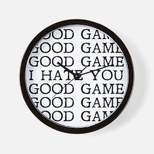 Good Game Wall Clock