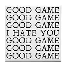 Good Game Tile Coaster