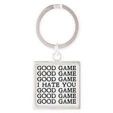 Good Game Square Keychain