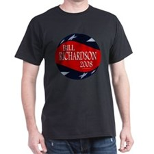 Bill Richardson 3-D Stars T-Shirt