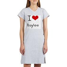 I Love Baylee Women's Nightshirt