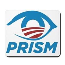 Obama Is Watching PRISM Edward Snowden N Mousepad