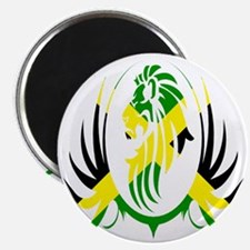 Jamaican Lion Magnet