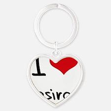 I Love Desirae Heart Keychain
