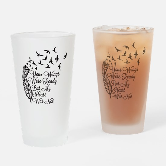 Cute Heart Drinking Glass