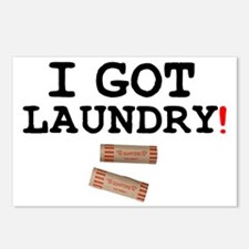 I GOT LAUNDRY! Postcards (Package of 8)