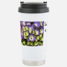 Thank You Full Bloom Pu Stainless Steel Travel Mug