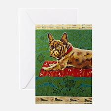 Kindle Sleev Frogdog Mira Slava Greeting Card