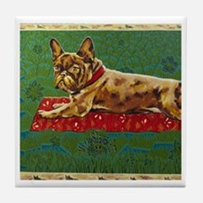 Pillow Frogdog Mira Slava Tile Coaster