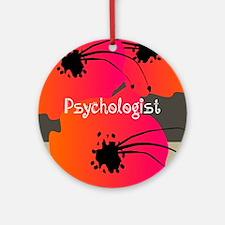 psychologist 2 Round Ornament