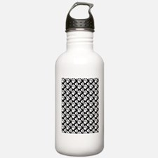 Dog Paws Black-Small Water Bottle