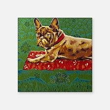 "Bag Frogdog Mira Slava Square Sticker 3"" x 3"""