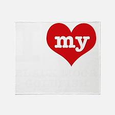 I love my Black Moor Goldfish Throw Blanket