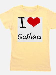 I Love Galilea Girl's Tee