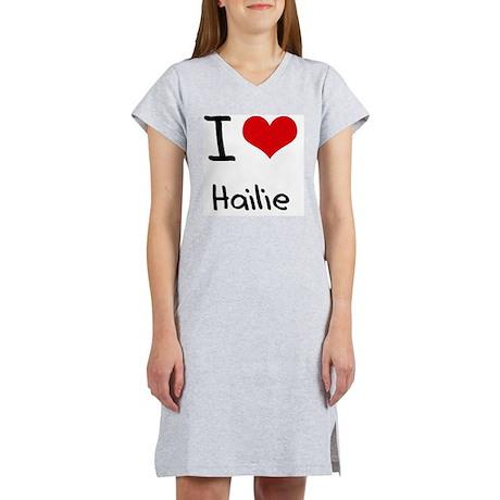 I Love Hailie Women's Nightshirt