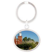 Big Bay Point Lighthouse Oval Keychain