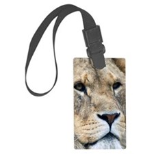 Lion iPhone Wallet/iTouch Case Luggage Tag