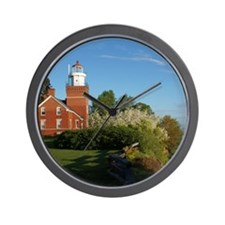 Big Bay Point Lighthouse Wall Clock