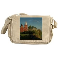 Big Bay Point Lighthouse Messenger Bag