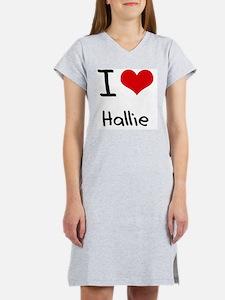 I Love Hallie Women's Nightshirt