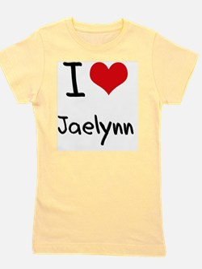 I Love Jaelynn Girl's Tee