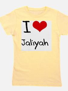 I Love Jaliyah Girl's Tee