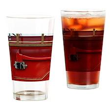 Truck Axe Drinking Glass