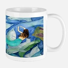 Dolphins and Mermaid party Mug