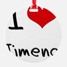 I Love Jimena Ornament