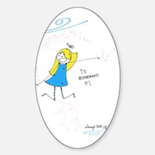 Optimism Sticker (Oval)