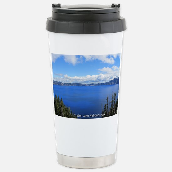 Crater Lake National Pa Stainless Steel Travel Mug