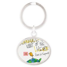 Acts of Appreciation Oval Keychain