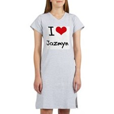 I Love Jazmyn Women's Nightshirt