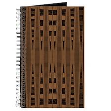 Brown Black Modern Journal