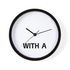 Plott Hound dog breed designs Wall Clock