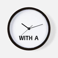 Spinone Italiano dog designs Wall Clock